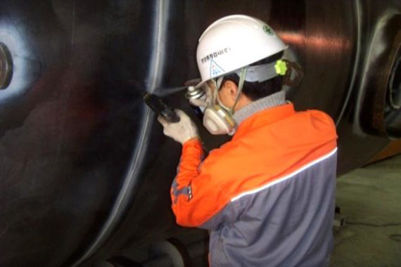 Steel tank inspection